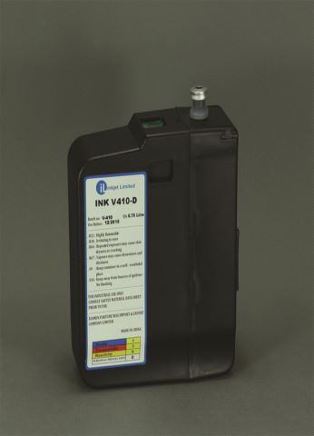 videojet ink cartidge v410 black